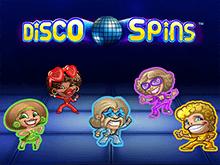 Онлайн игровой автомат Disco Spins