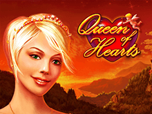 Автомат Queen of Hearts на зеркале казино